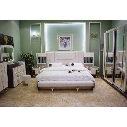 VEGAS TURKISH GENCKAL MASTER BEDROOM 6 PIECES
