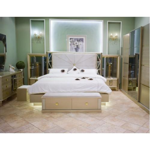 غرفة نوم رئيسية كلاسيك - ايفرتش 1853 - 7 قطع