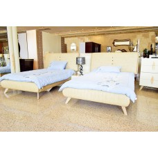 Single Bedroom - 7 pieces - 2 beds 8833