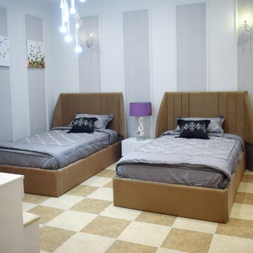 Bedroom Single Two Beds C 012