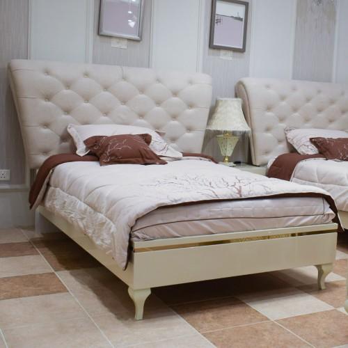 Bedroom single beds 9444 seven pieces