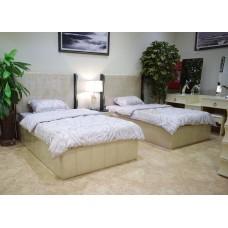 Bedroom single beds 9445 seven pieces