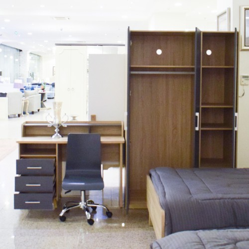 غرفة نوم مفرد - 2701BO -  1 سرير - 5 قطع