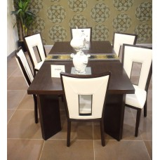 Dining table - 6 chairs - table - server - Delano