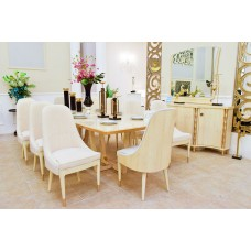 Dining table - 10 chairs - buffet 8817