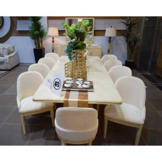 Dining table - 10 chairs - buffet 905