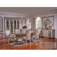 Dining table - 10 chairs - buffet 6217