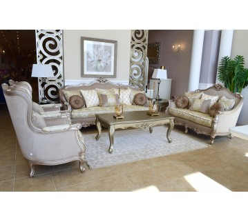 Sofa set - 4 pieces - A19B