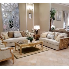 Sofa set - 4 pieces - 2075