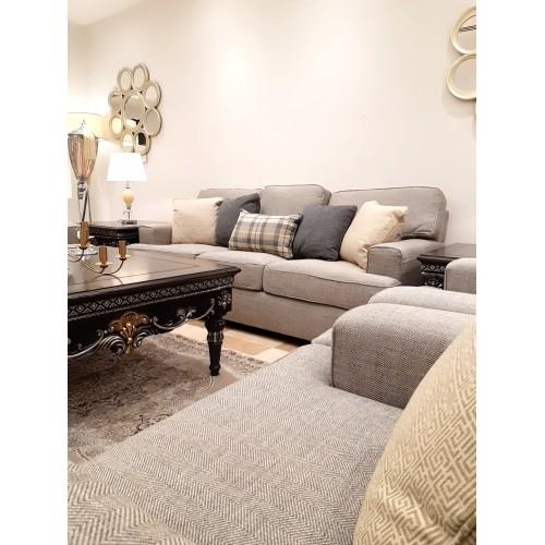 Sofa set - 4 pieces - CREAMXF118