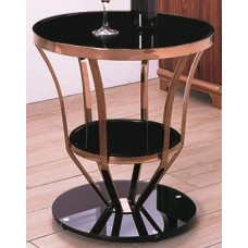 Side table - X905 black glass