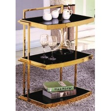 Side table - X208 black glass
