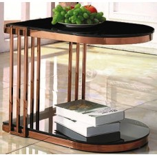 Side table - X285 black glass