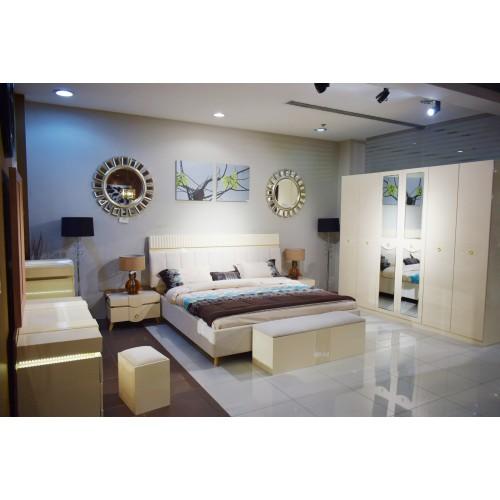 Master bedroom 9457 Yao seven pieces