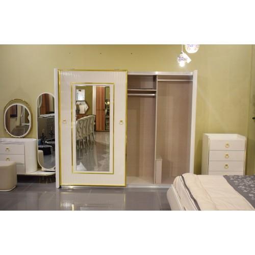 Master bedroom - 6 pieces - Yatak - 2050