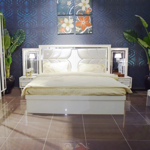 غرفة نوم رئيسية مودرن 1683 - 6 قطع