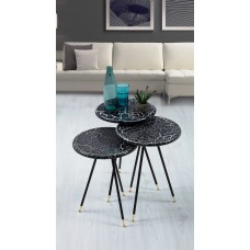 Modern Service Tables - 3 pieces - 115