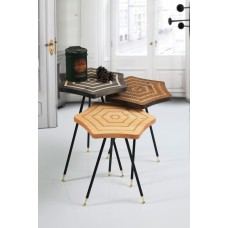 Modern Service Tables - 3 pieces - 130