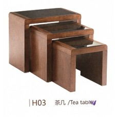 Modern Service Table - 3 pieces - H03