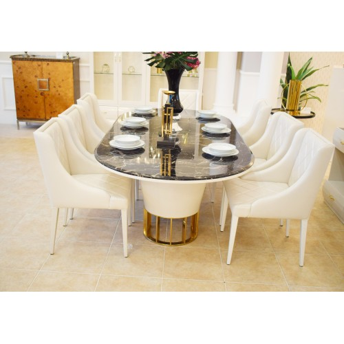 Modern Dining Table - 12 Pieces - D983