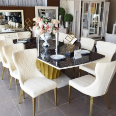 Modern Dining Room - 10 Chairs - 13 Pieces - ِ D805