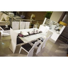 Dining table - 8 chairs - 10 pieces - T338