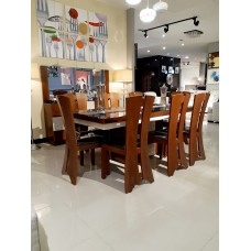 Dining table - 8 chairs - 10 pieces - T827