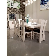 Dining table - 8 chairs - 10 pieces - C824