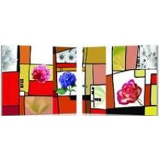 Modern Painting - 2 pieces - FL - 3034AB