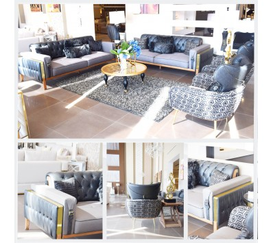 Modern Sofa-4 Pieces-Safir