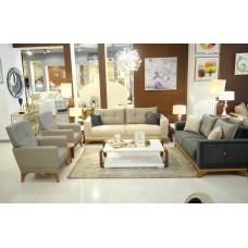 Modern sofa set - 4 pieces - Milena
