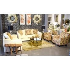 Modern sofa set - 4 pieces - XF201