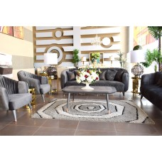 Modern sofa - 4 pieces atlas table