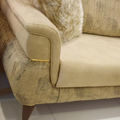Modern sofa - 4 pieces - CARMEN