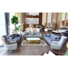 Modern sofa - 5 pieces - ERTUGRUL