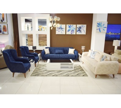 Modern sofa - 4 pieces - Linda