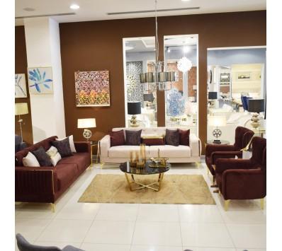 Modern Sofa - 4 Pieces -3 + 3 + 1 + 1- Toronto
