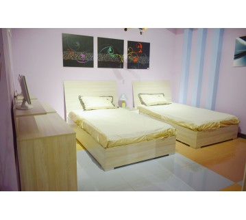 Single bedroom - 2 bed - 8 pieces - LM10